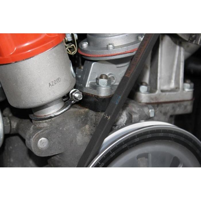 Fuel pump flange