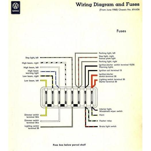 Vw New Beetle Fuse Box - Wiring Diagram Schemas
