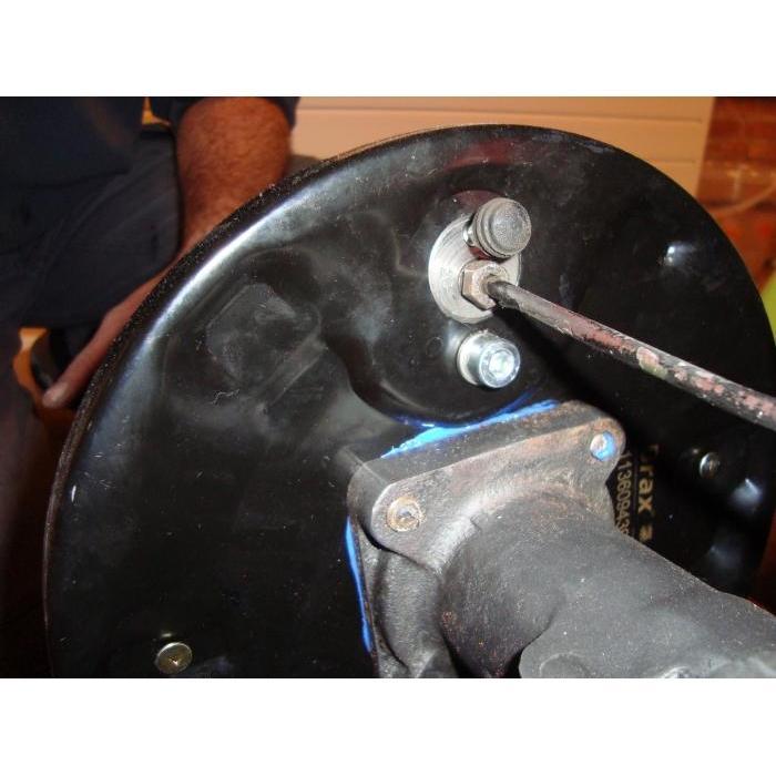 Volkswagen Beetle Rear Brake Backing Plate Right Number