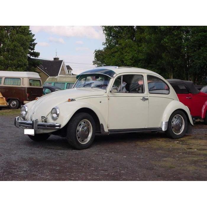 Volkswagen Beetle Perspex sun visor green number 6482 921e0502d49