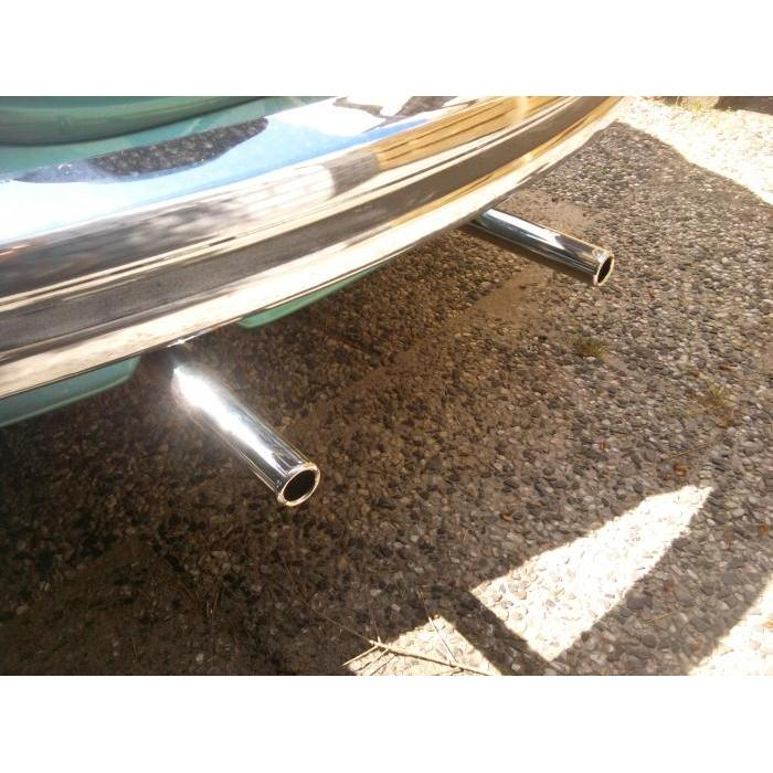 Tail pipe stainless A-quality (Per Pair)
