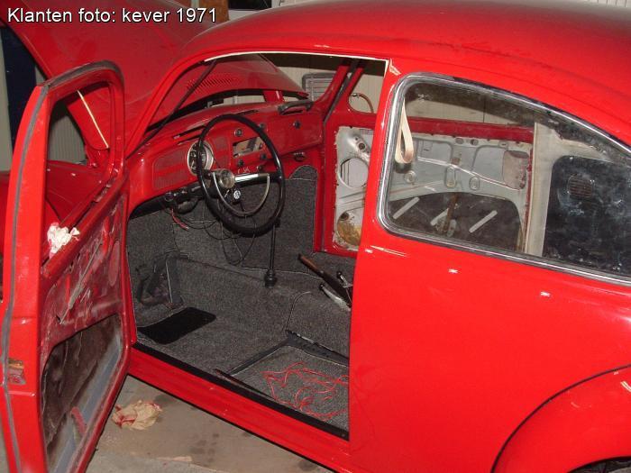 Volkswagen Kever Tapijtset interieur gemeleerd grijs nummer 534 / 34 ...