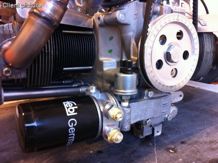 Volkswagen Beetle Heavy Duty Oil Pump With Filter 30 Mm