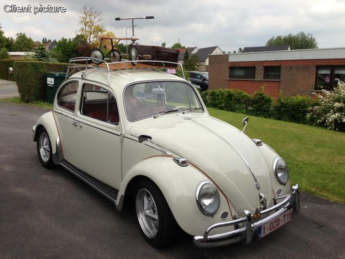 Volkswagen Beetle Classic Roof Rack Polished Stainless