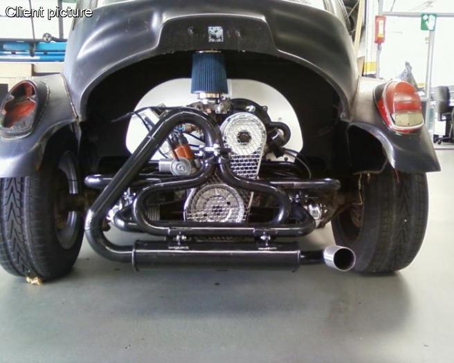 Volkswagen Beetle Quiet Baja Exhaust Number 1043