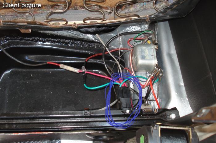 Volkswagen Beetle Relay 12 Volt 40a Number 683    311 906 061 C