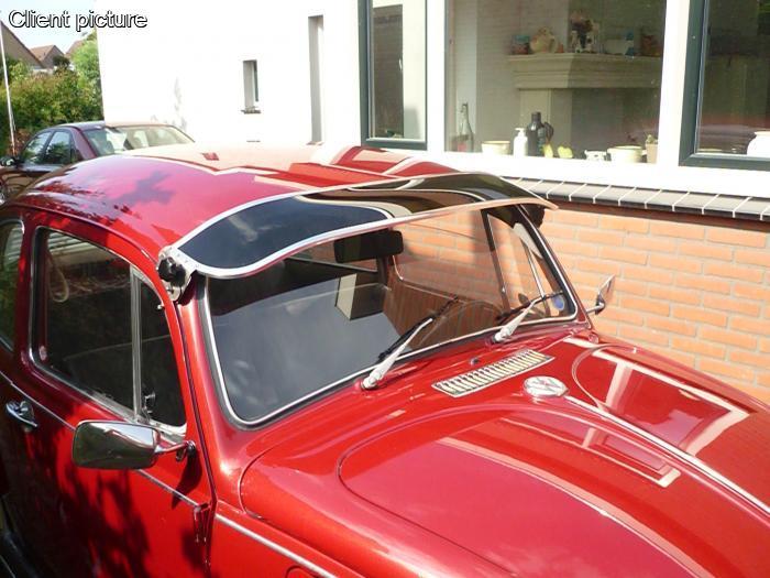 Volkswagen Beetle Perspex Sun Visor Smoke Number 6483