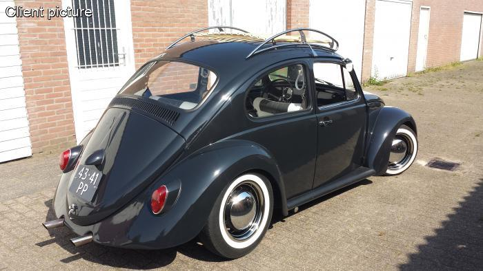 Volkswagen Beetle Vintage Roof Rack Polished Stainless