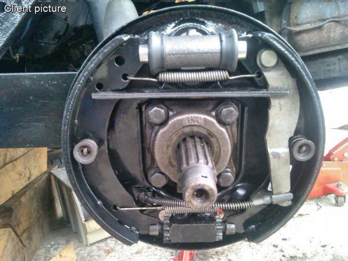 volkswagen beetle wheel brake cylinder rear   mm  quality  number