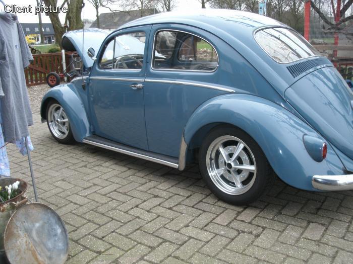 Volkswagen Beetle Radar wheel silver (each) number 2480