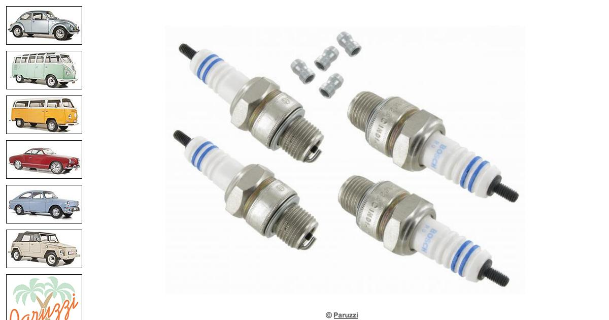 Volkswagen Beetle Spark Plug Bosch W8ac For Stock Engines
