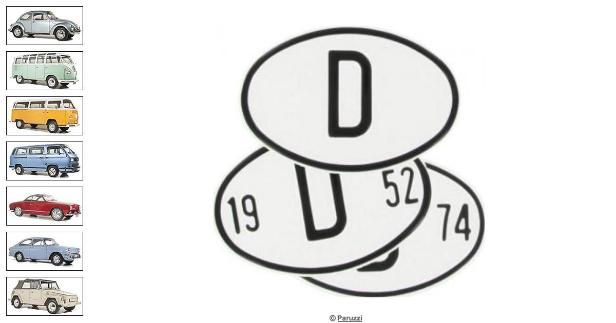 volkswagen beetle origin plate germany number 709621