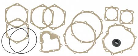 Gasket set for fully synchronized gearbox