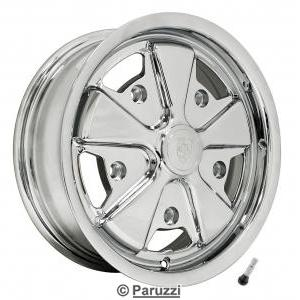 911 Alloy wheel fully chromed each