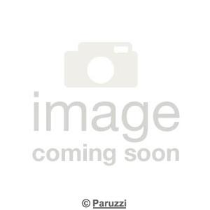4-Spoke wheel matte black each