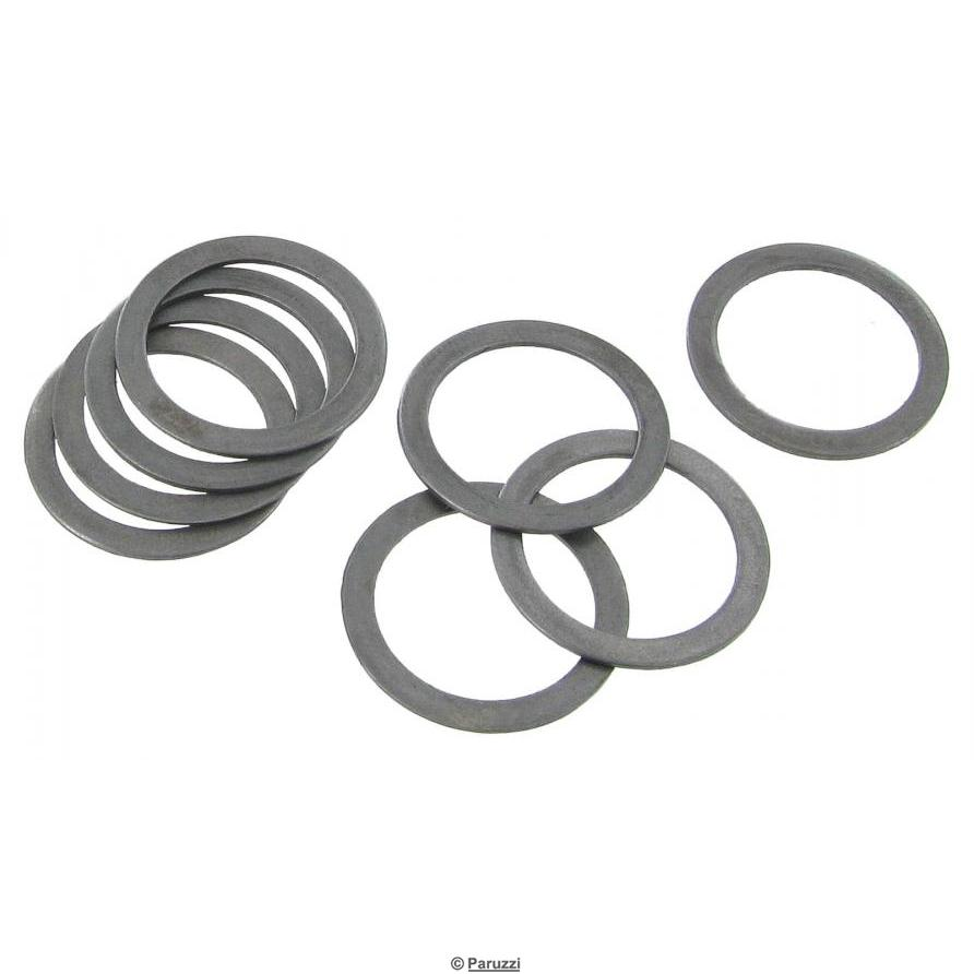 Rocker shaft shims for high-ratio rocker kit No 1780 and No 181 (8 pieces)