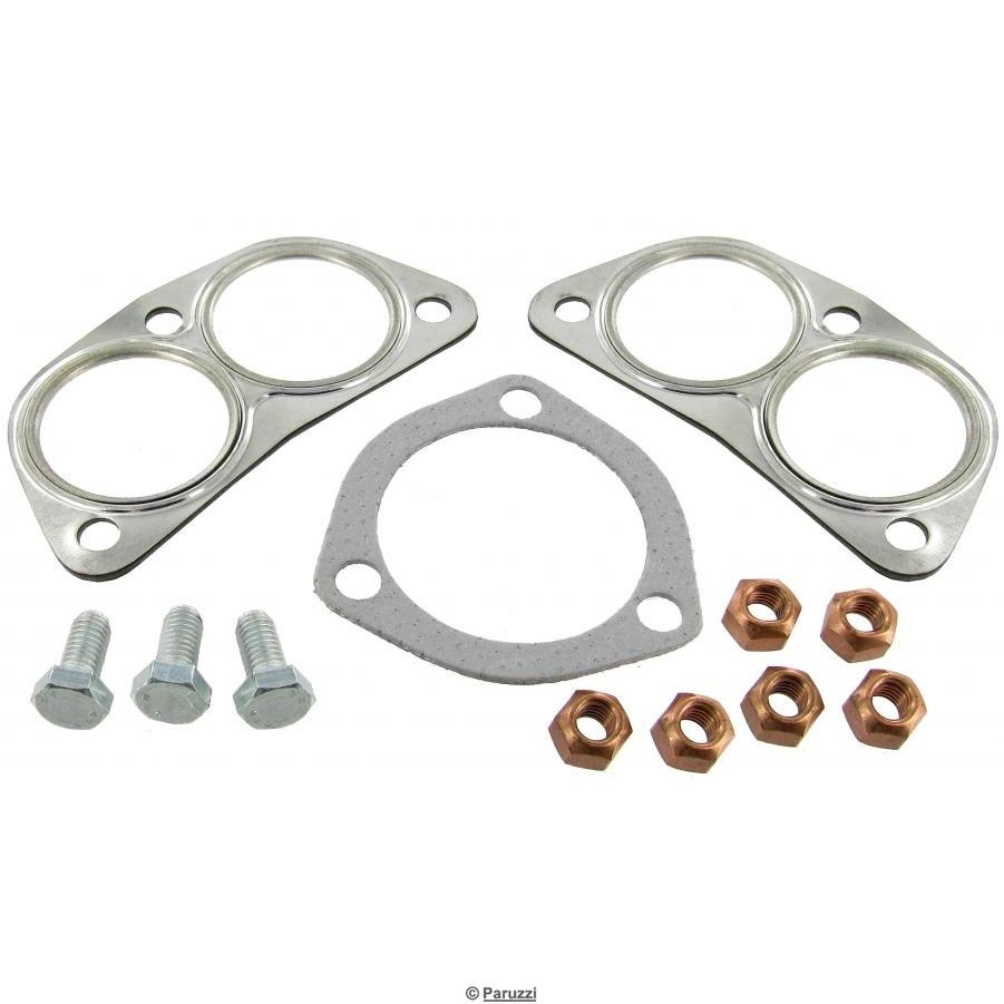 Exhaust mounting kit (muffler and tail pipe)
