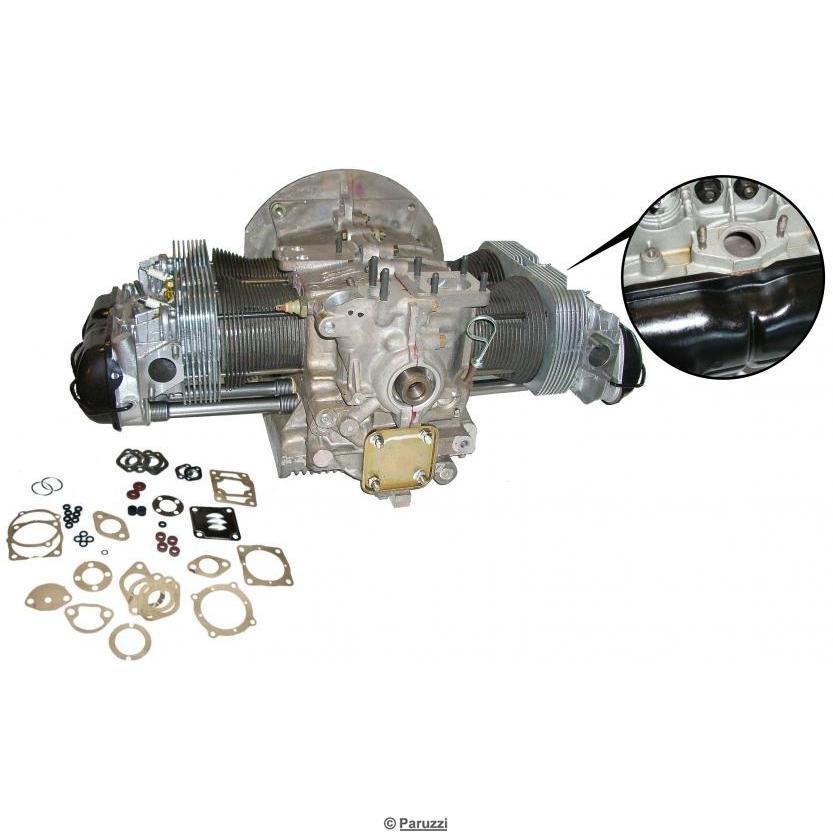 vw 1600 motor säljes