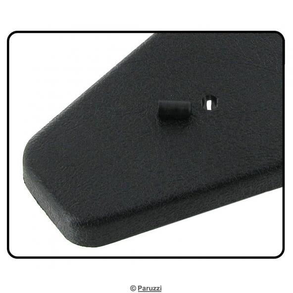 Seat side cover plate without hole for the left side (each)